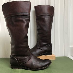 Frye Melissa Trapunto Style #76442 Riding Boots